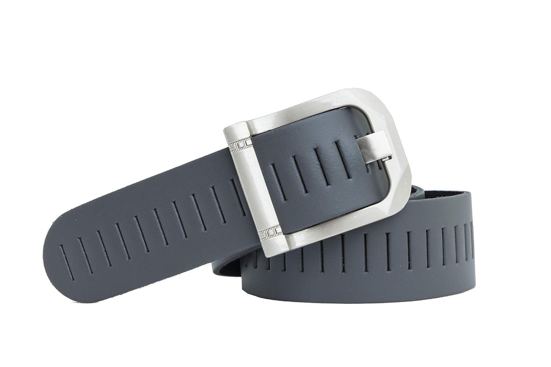 shenky - Cintura in pelle - motivo a punzoni - 4 cm SGL