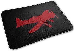 Shenghong Lin Airplane WW2 Welcome Mat Rug Front Door Bathroom Indoor Outdoors Floor Mat Gate Pad Cover Doormat Bath Mat Carpet