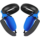 Esimen Touch Controller Grip Cover for Oculus Quest/Rift S Wrist Strap Anti-Throw Handle Protective Sleeve Suit (Blue…