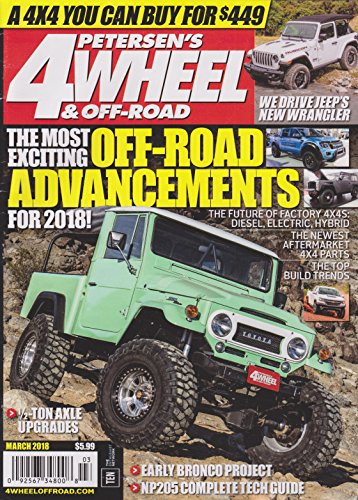 Magazine Off Road (Petersen's 4 Wheel & Off-Road Magazine March 2018)