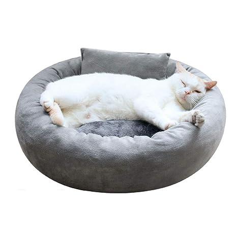QIANHUANG Cama for Mascotas, Gato, Perro pequeño, Suave y ...