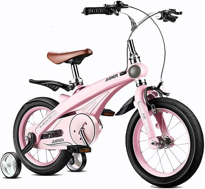 Bicicletas Para Niños Niños De Moda Niños Y Niñas Al Aire Libre Niños Al Aire Libre Los Mejores Regalos para Niños (Color : Pink , Size : 12 Inches) : Amazon.es: Juguetes y juegos