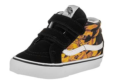 7b71071bd5 Vans Toddlers Sk8-Mid Reissue V (Digi Flame) Skate Shoe  Amazon.co.uk  Shoes    Bags