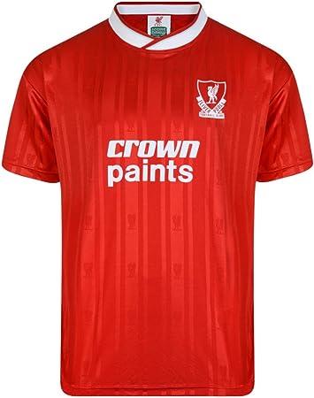 Liverpool - 1988 Camisa roja, 2X-Large: Amazon.es: Deportes y ...