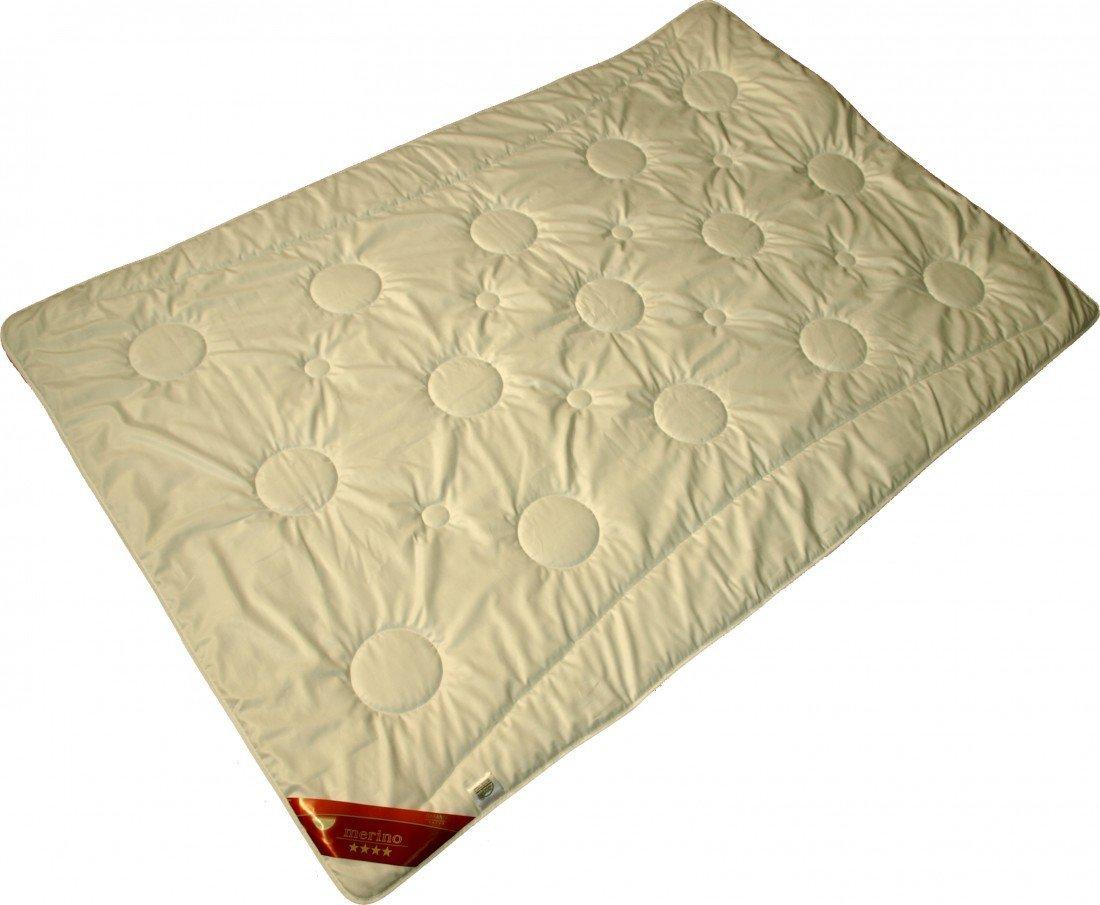 Steppdecke 155 x 200 1850 g - Modicana Warme Duo-Bettdecke für den Winter - Steppbett Decke - Füllung 100% Merino