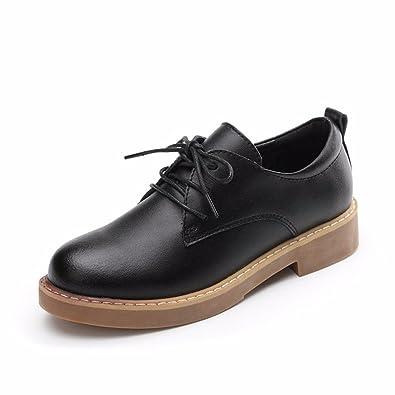Femme Moonwalker Chaussures En Cuir Oxford (34 Eur, Noir)