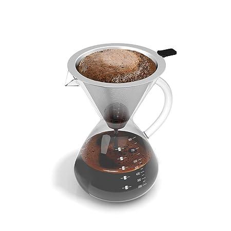 Vierta sobre cafetera filtro por vënzzi | doble estilo ...