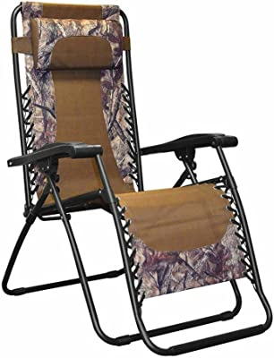 Outdoor Recliner Chair Folding Lounge Chair Adjustable Outdoor Living Furniture Comfortable Garden Poolside Relax Stylish Durable with Pillow Waterproof Easy Storage Camouflage & eBook by BADA shop