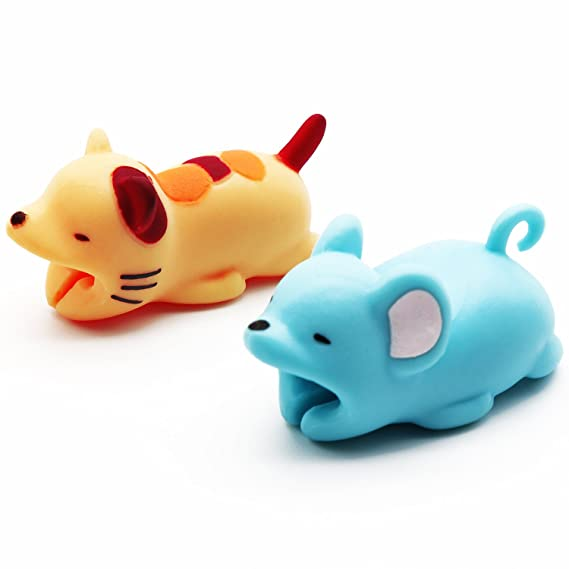 Amazon.com: MMHUO 2 Pieces Cable Bite Animals Compatible Cell Phone ...