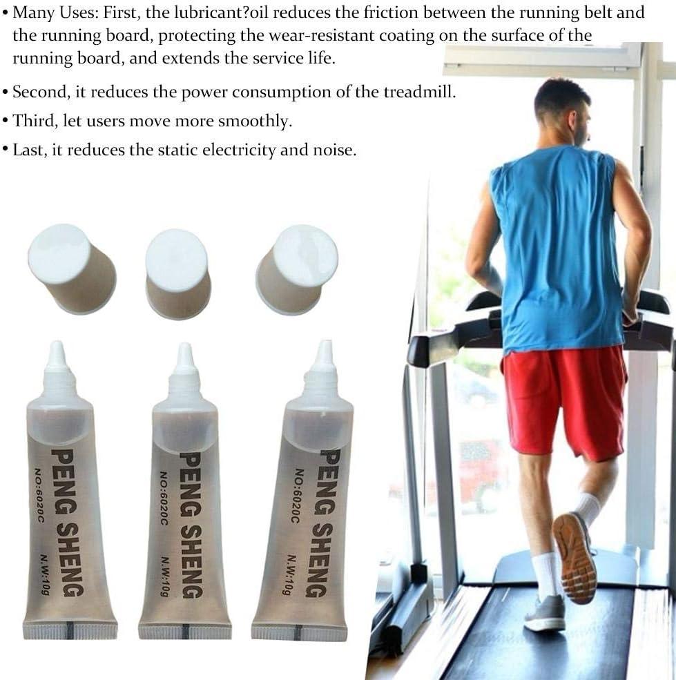 Fitnessger/äte Schmier/öl Ungiftig Geruchlos Einfach Zu Bedienen Und Vielseitig F/ür Fitnessger/äte Laufband popchilli 5 ST/ÜCKE Laufband Schmiermittel