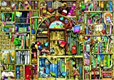Toys : Ravensburger Bizarre Bookshop 2 1000 Piece Jigsaw Puzzle for Adults – Every Piece is Unique, Softclick Technology Means Pieces Fit Together Perfectly