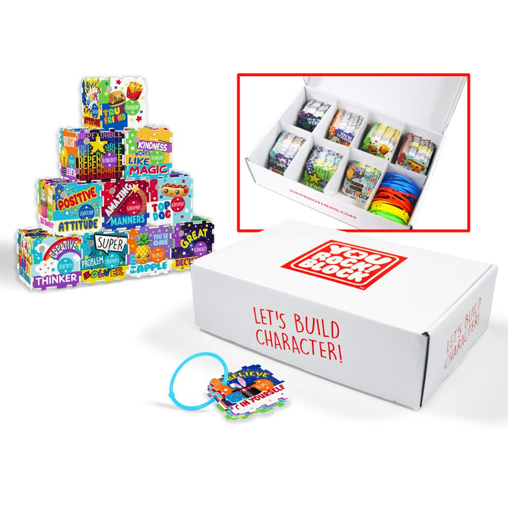 You Rock! Block Positive Behavior Reward System Class Kit