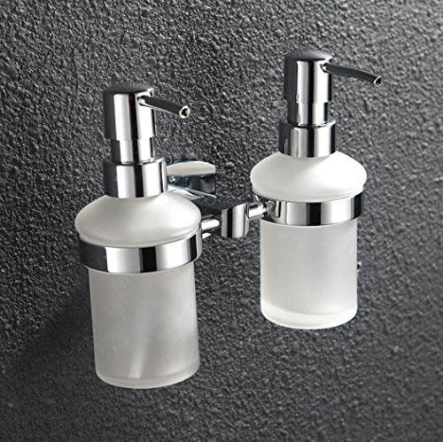 - LyMei liquid hand soap dispenser,Shower Gel Shampoo Soap Wall Mount Hotel, Family Villa Special Toilet Bathroom Soap Dispens
