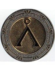 Stargate Commemerative 20th Anniversary Gold Coin sm