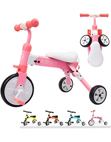 75b91e06a7c XJD 2 in 1 Kids Tricycles for 2 Years Old and Up Boys Girls Tricycle Kids