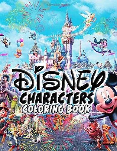 Disney Character Coloring Pages Coloring Pages The Best Unique ... | 500x387