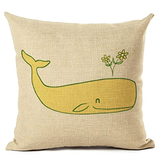 TKGJJ Fundas Cojines,Throw Pillow,Almohada Caso,Dibujos ...
