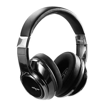 ZEALOT B22 Auricular Bluetooth sobre el oído Auriculares estéreo Bluetooth AUX Cable, Micrófono HD para
