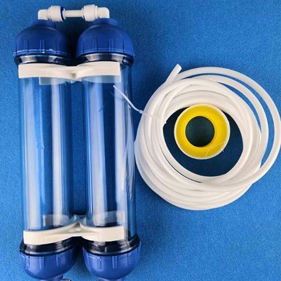 Nologo Filtro de agua de tubo de filtro de vivienda DIY llenado ...