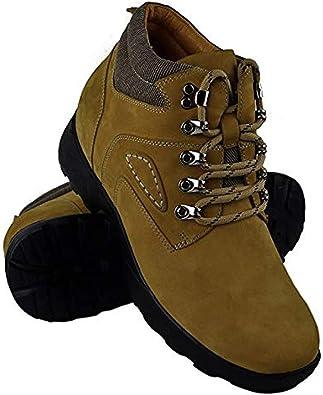ZERIMAR Botas con Alzas Interiores para Hombres Aumento 8 cm | Zapatos de Hombre con Alzas Que Aumentan Su Altura | Zapatos Hombre | Zapatos Hombre Casuales