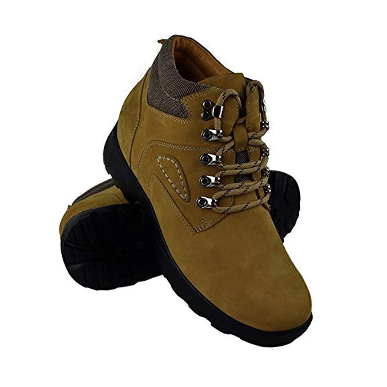 TALLA 39 EU. ZERIMAR Botas con Alzas Interiores para Hombres Aumento 8 cm | Zapatos de Hombre con Alzas Que Aumentan Su Altura | Zapatos Hombre | Zapatos Hombre Casuales