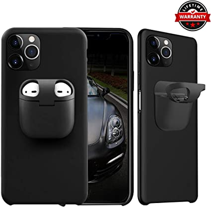 Amazon Com Case For Iphone 11 Pro Max With Airpods Pro Holder 2