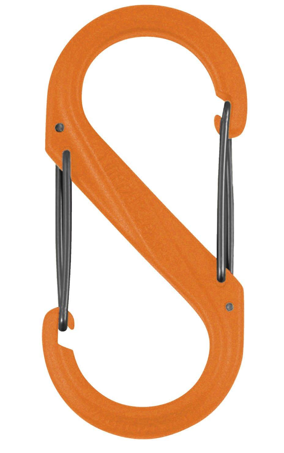 Nite Ize S-Biner Plastic Size #4 -Orange Pkg