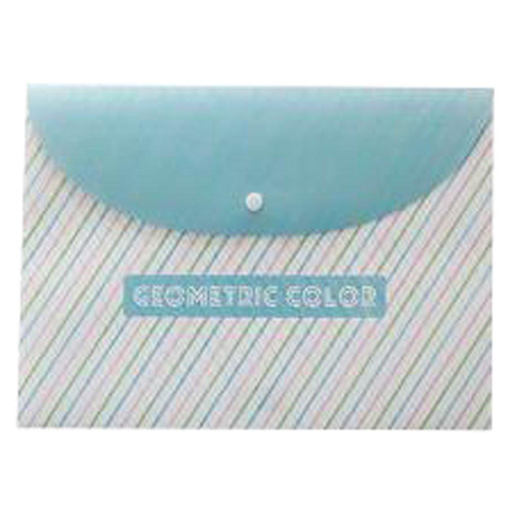 3PCS Cute File Bag Stationery Bag Pouch File Envelope for Office/School Supplies, Oblique