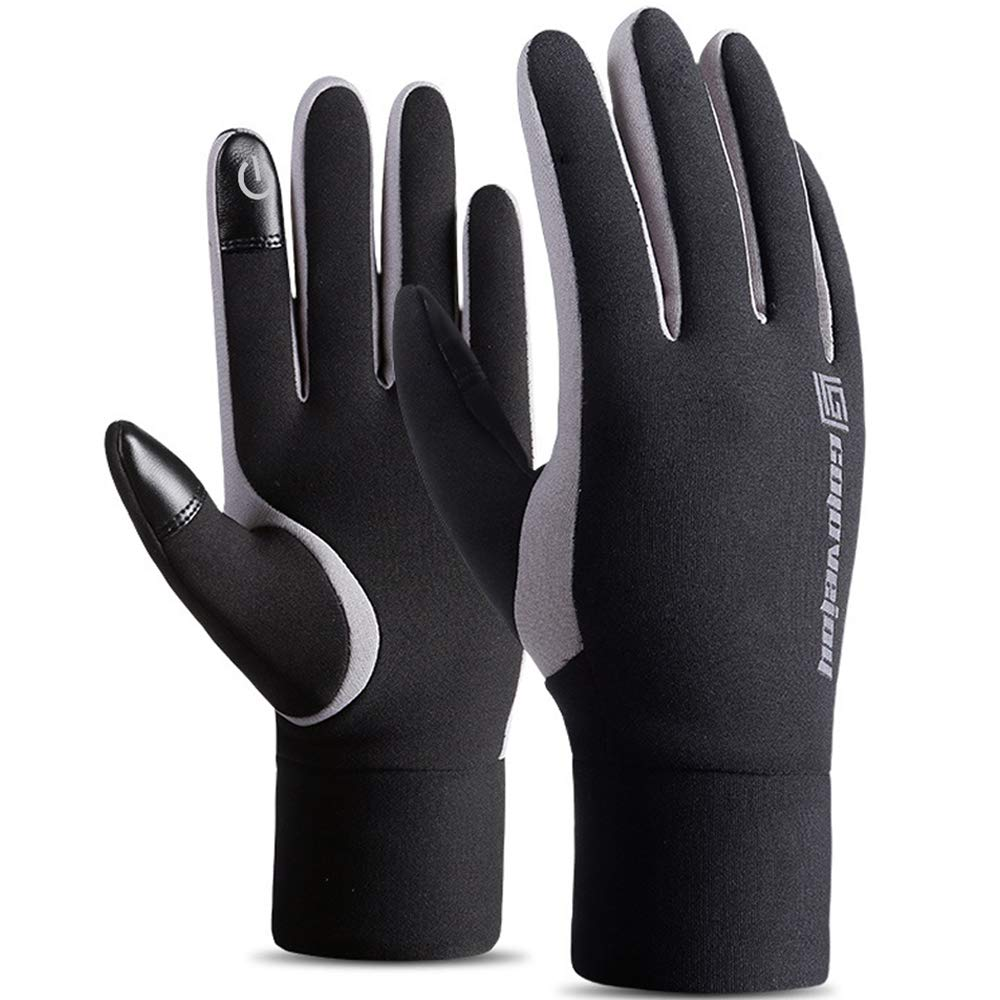 NTRH Winter Gloves Touchscreen Gloves Women Men Thermal Gloves Running Warm Gloves Cold Weather Windproof Cycling Gloves