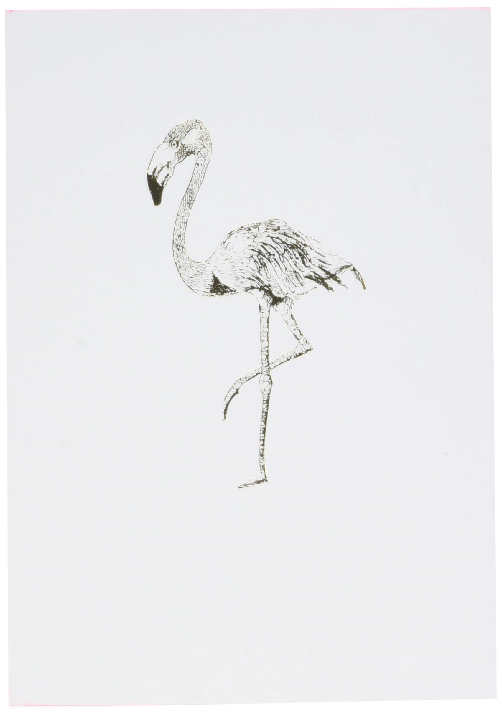 Editions Oberthur 588284Papette Notebook A6Gold Fever Flamingo