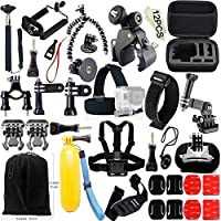 YFY 46-In-1 Basic Outdoor Sports Accessories Kit for GoPro Hero Cameras