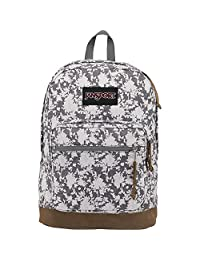 JanSport Derecho Pack Expresiones, Grey Heathered Floral, Talla única