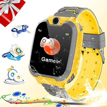 Amazon.com: Reloj inteligente para niños, Zeekeer Music Game ...