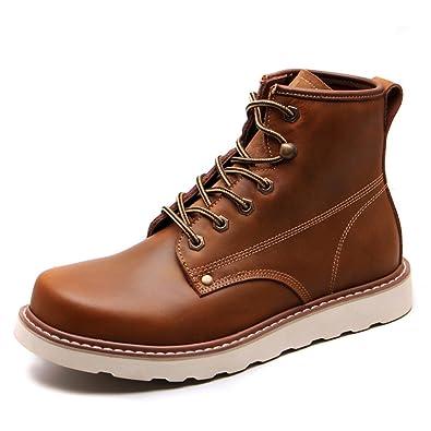 2b989c147d63e7 casual chaussures robe alpinisme automne plein air confortable boots glisser  sur blanc -E Longueur du
