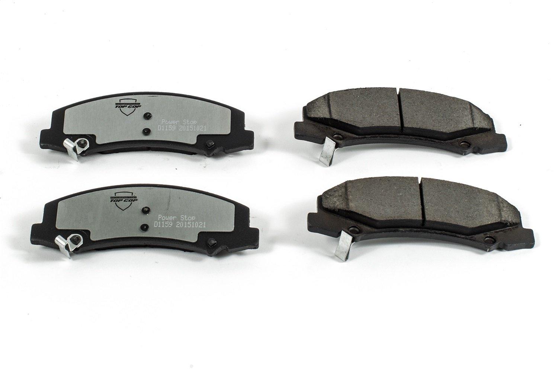 Power Stop Z37-1159 Z37 Top Cop Severe-Duty//Fleet Brake Pad