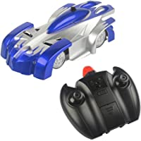 WebKreature Jr. 4 Channel 2-in-1 Wall Climbing RC Stunt Racing Car Toy, Good Gift for Kids