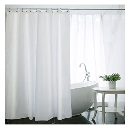 Waterproof Mold And Mildew Resistant Fabric Shower Curtain 60 Inch By 72