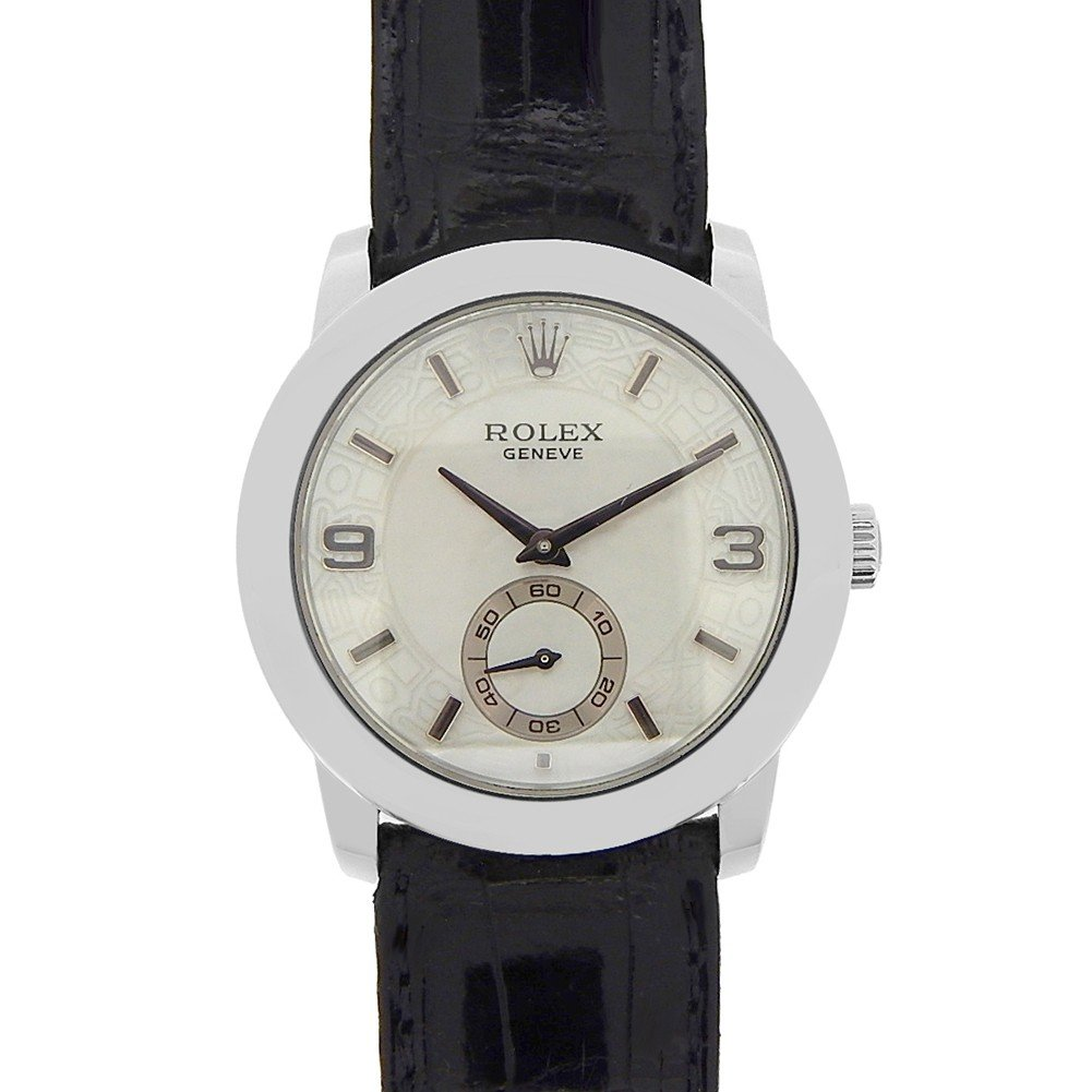 Rolex Cellini mechanical-hand-wind mens Watch 5240/6 (Certified Pre-owned)