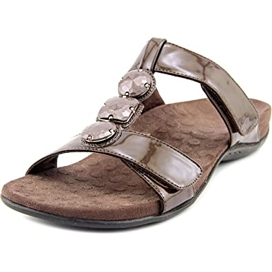 6a38c7f4ab09 Orthaheel Vionic Womens Albany Jeweled Slide Sandal Shoes