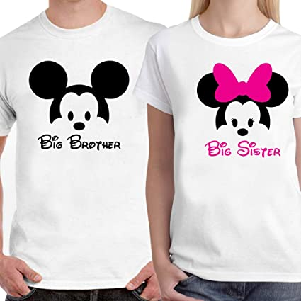 b4eae425 Buy DreamBag - Big Brother, Sister T-Shirt Online at Low Prices in ...