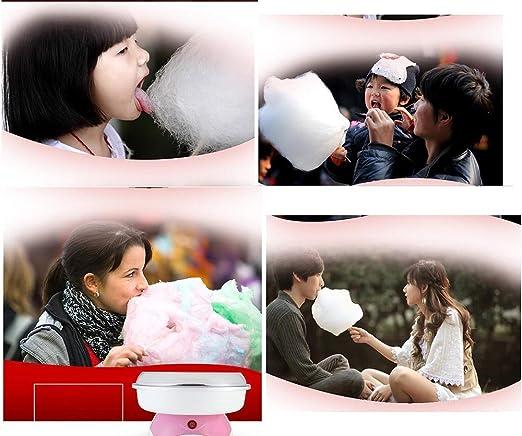 Zyyqt Máquina de algodón de azúcar, algodón eléctrico de los niños ...