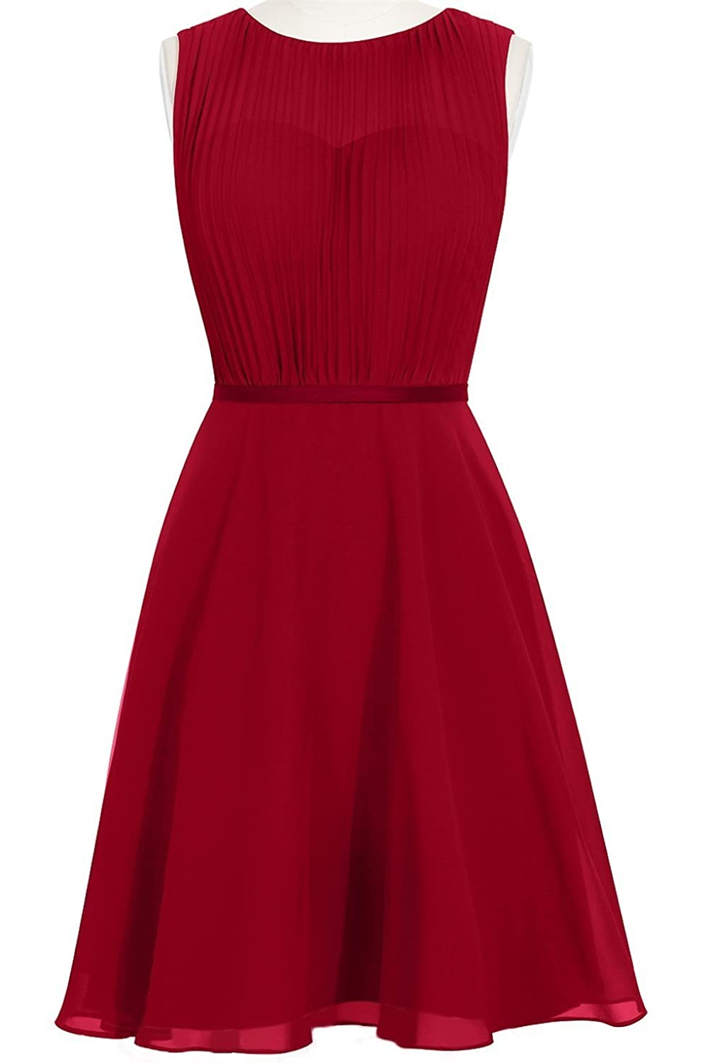 MittyDresses 2015 New Cocktail Homecoming Dresses for Girl Evening Party Size 24W US Burgundy
