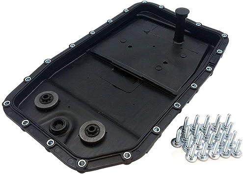 Jsd Auto Parts Getriebeölwanne Mit Filter Und Schraube Für 6 Gang Automatikgetriebe 6hp26 Oe Ref 24117571227 Lr007474 Auto