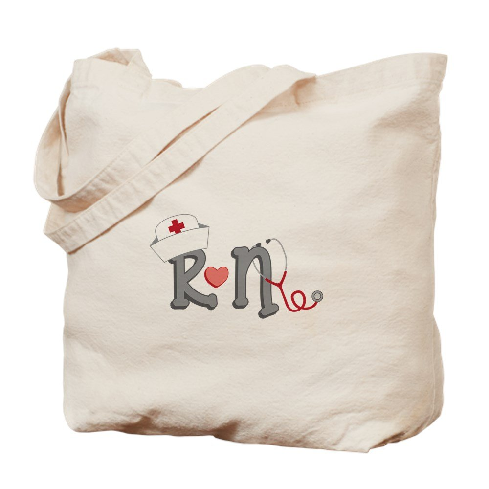 CafePress – 登録看護師 – ナチュラルキャンバストートバッグ、布ショッピングバッグ B01LIRMMRC