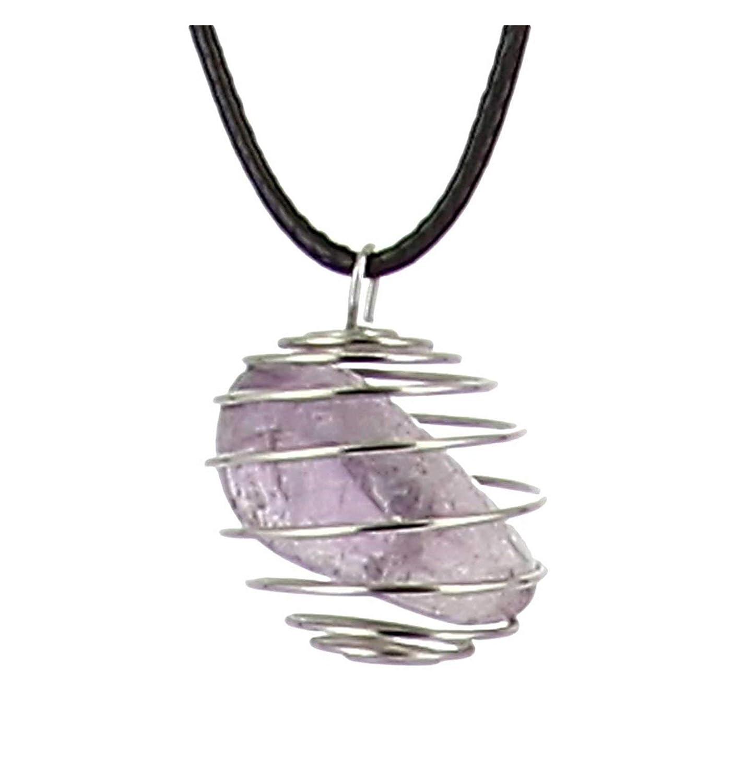 Axstore Market - Collar Piedra Natural D Amatista con Colgante ...