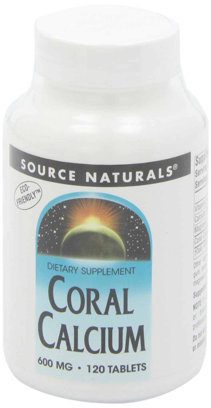Source Naturals Coral Calcium, 120 Tablets