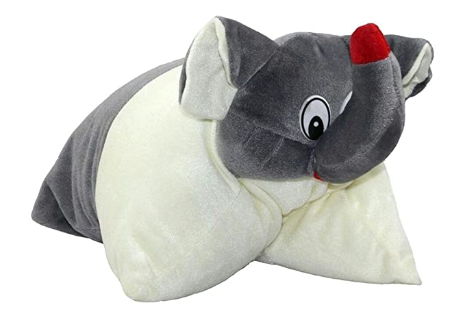 PRACHI TOYS Baby Cushion / Pillow for Kids with Cartoon Character (Grey)