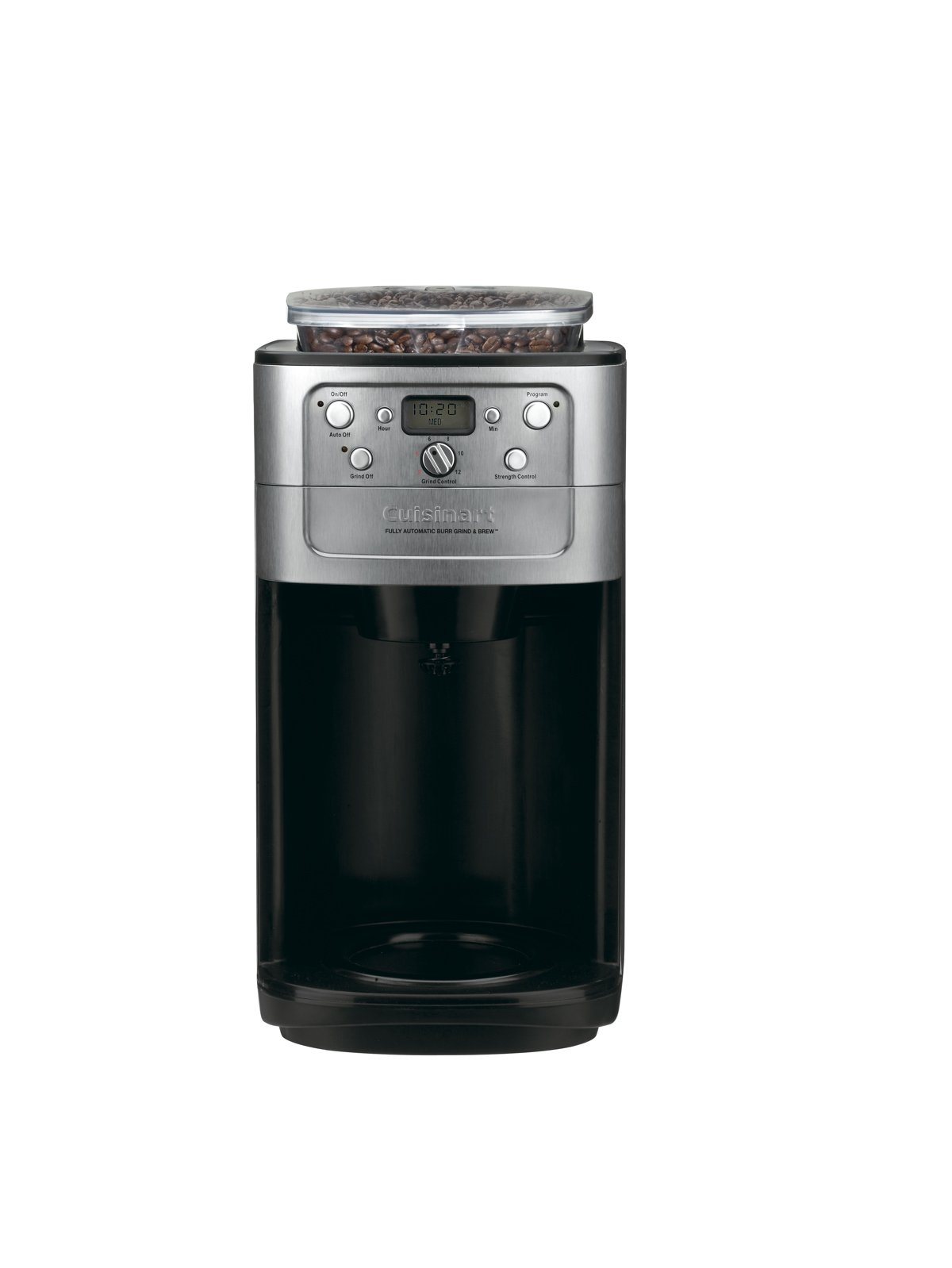 Conair Cuisinart Grind & Brew DGB-700BC 12 Cup Coffeemaker (Black/Brushed Chrome) by Cuisinart (Image #1)