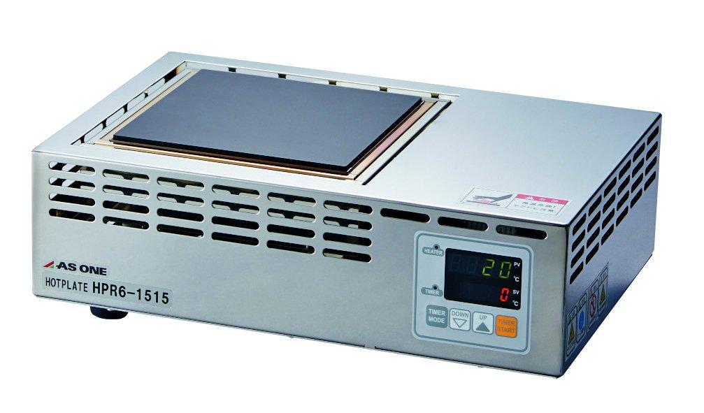 アズワン ホットプレート600 (耐薬天板) 150×150mm /3-6756-01 B06XXJPPNK  150×150mm