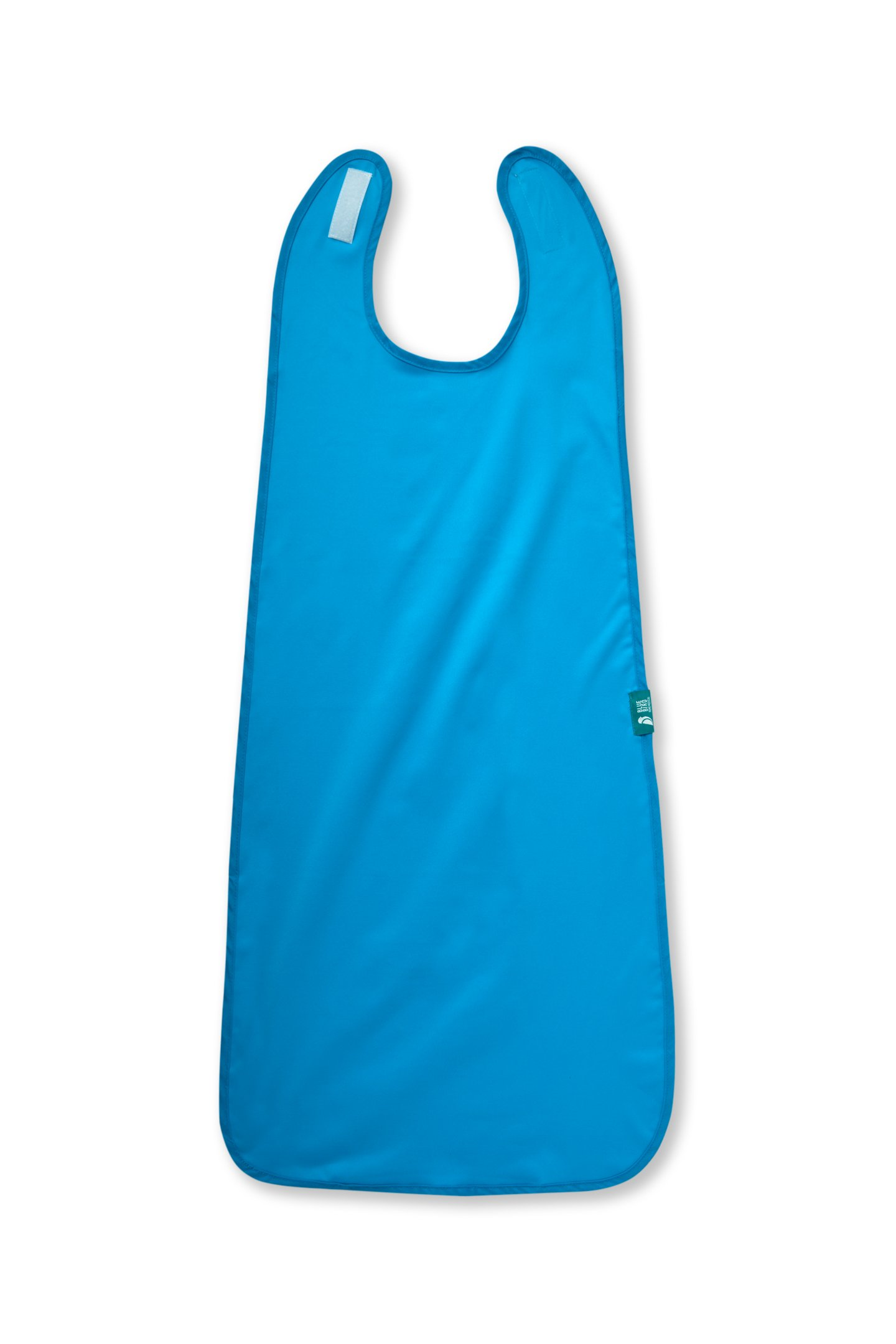Bluebird HM Extra Long and Waterproof Adult Bib Clothing Protector, Teal